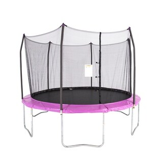 Skywalker Trampolines Purple 12' Round Trampoline with Enclosure