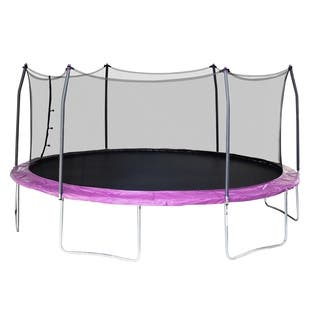 Skywalker Trampolines 17' Oval Trampoline with Enclosure - Purple https://ak1.ostkcdn.com/images/products/17676710/P23885452.jpg?impolicy=medium