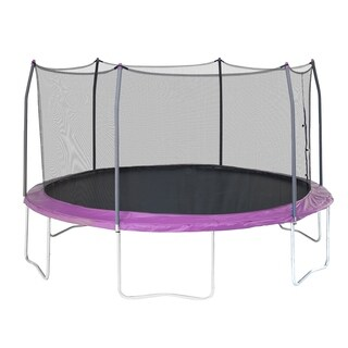 Skywalker Trampolines Purple 15' Round Trampoline with Enclosure