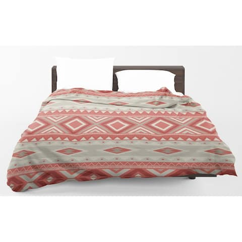 Kavka Designs Mesa Red Light Weight Comforter By Marina Gutierrez