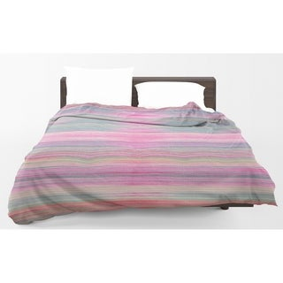 Kavka Designs Abstract Sunset Light Weight Comforter By Marina Gutierrez