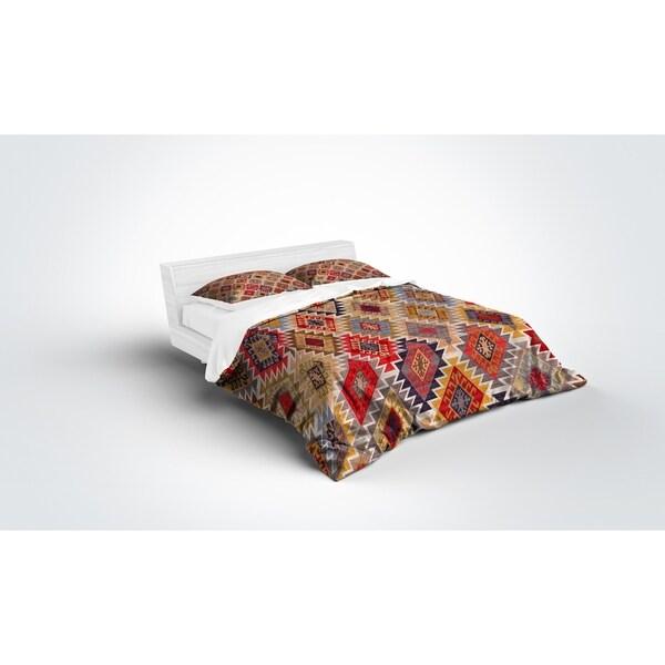 Kavka Designs Grey; Red; Yellow; Gold; Blue Light Weight Comforter By Marina Gutierrez