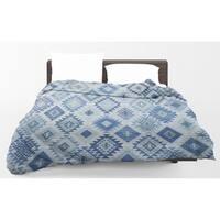 Kavka Designs Blue Light Weight Comforter By Marina Gutierrez