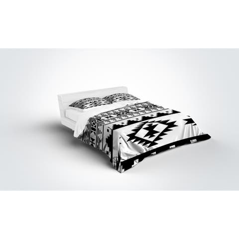 Kavka Designs Sedona B&W Light Weight Comforter by Kavka Designs