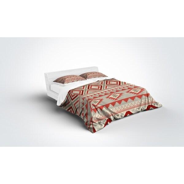 Kavka Designs Mesa Tan Light Weight Comforter By Marina Gutierrez
