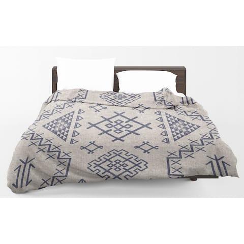 Kavka Designs Yuma Light Blue Light Weight Comforter By Marina Gutierrez