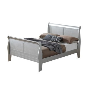 Lyke Home Kendra Sleigh-inspired Queen Bed