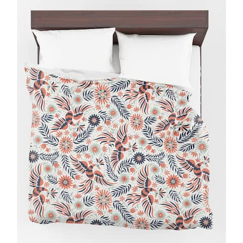 Kavka Designs Flock Light Weight Comforter By Terri Ellis