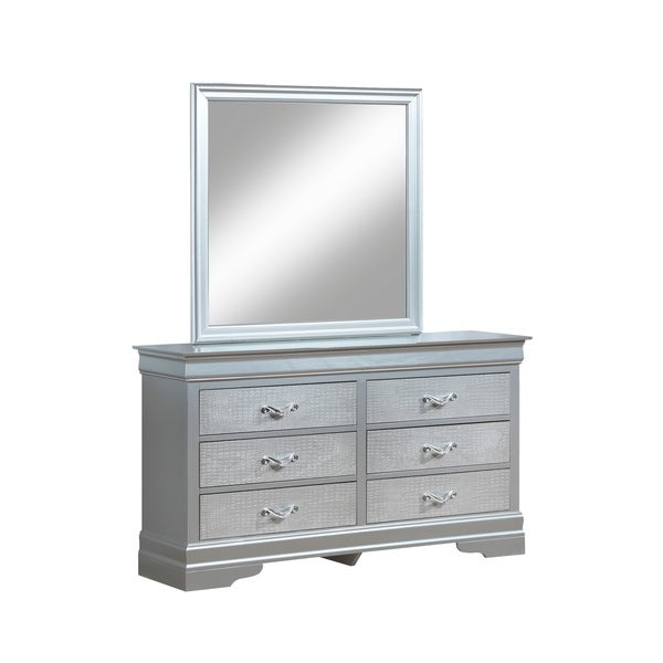 Silver Mirrored Dressers Chests Online At Our Best Bedroom Furniture Deals