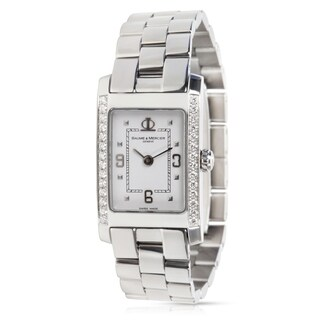 Baume & Mercier Hampton 65406 Women's Watch in Stainless Steel