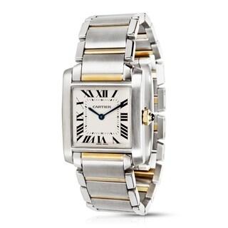 Cartier Tank Francaise W51007Q4 Unisex Watch in 18KYG/SS
