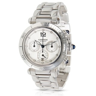 Cartier Pasha Seatimer Chrono W31030H3 Men's Watch in Stainless Steel