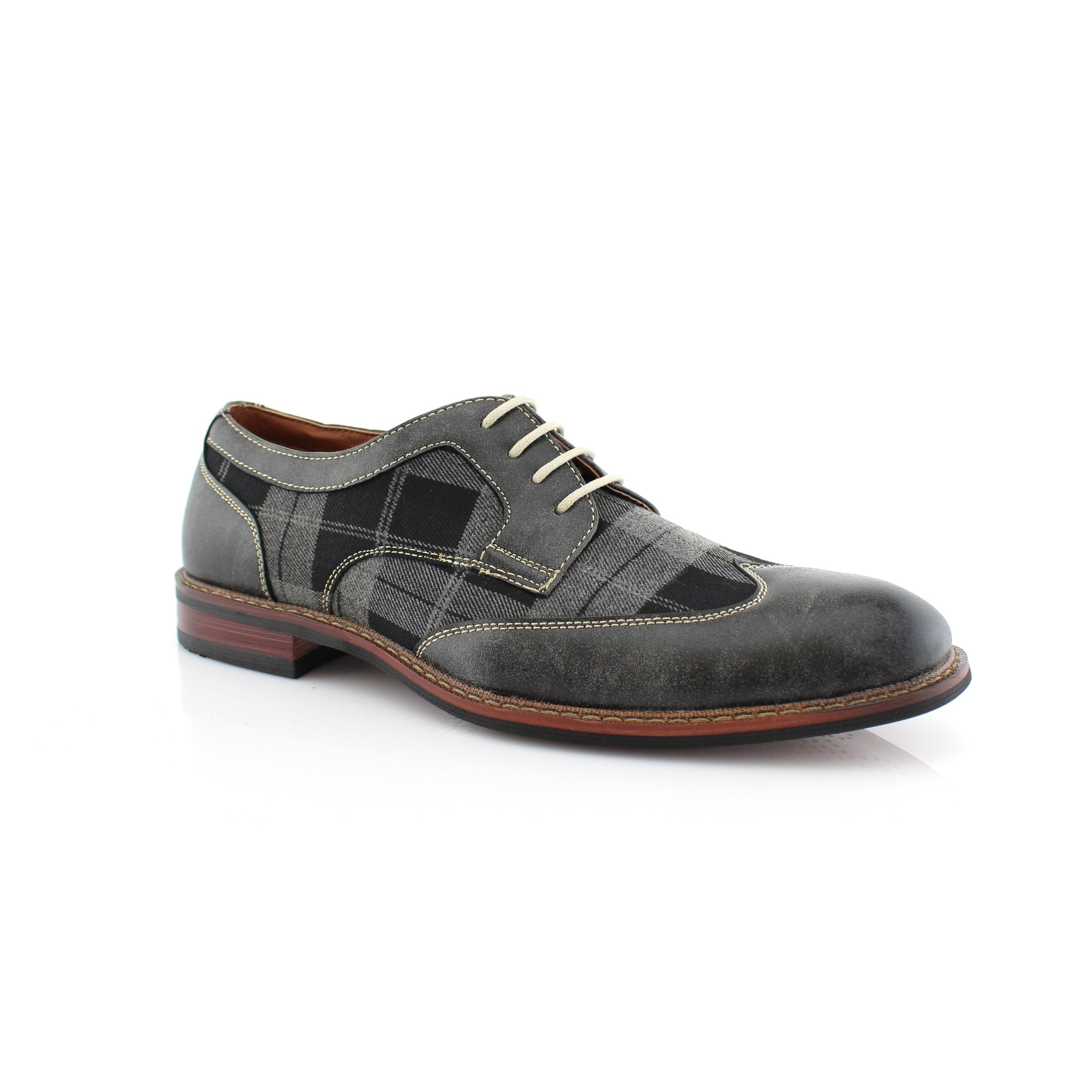 Wingtip Oxfords Dress Shoes