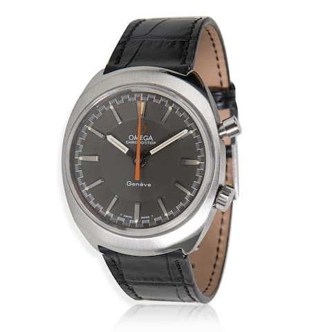 Omega Chronostop Men's Mechanical Watch in Stainless Steel