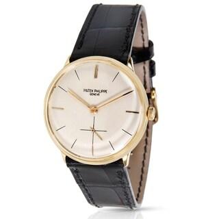 Patek Philippe 2573 Men's Mechanical Watch in 18K Yellow Gold