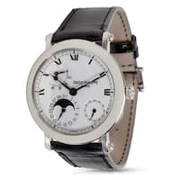 Patek Philippe 5054P Men's Watch with Date and Moonphase in Platinum