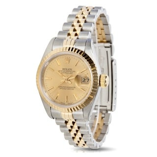 Rolex Datejust 69173 Ladies Watch in 18k Yellow Gold/Steel