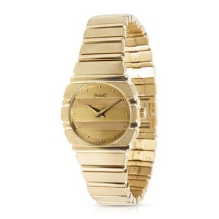 Piaget Polo 861 C701 Women's Watch in 18K Yellow Gold|https://ak1.ostkcdn.com/images/products/17677110/P23885784.jpg?impolicy=medium
