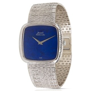 Piaget Dress 12773 A6 Vintage Unisex Watch in 18K White Gold