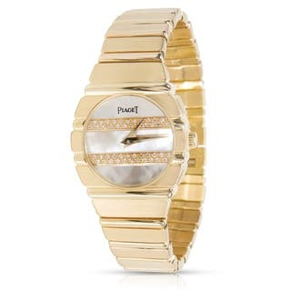 Piaget Polo 861 C 701 Women's Watch in 18K Yellow Gold|https://ak1.ostkcdn.com/images/products/17677113/P23885787.jpg?impolicy=medium