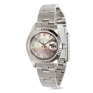 Rolex Datejust 79174 Women's Watch in 18K White Gold/Stainless Steel