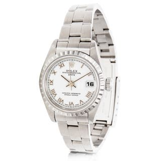 Rolex Date Chronometer 79240 Ladies Watch in Stainless Steel|https://ak1.ostkcdn.com/images/products/17677132/P23885814.jpg?impolicy=medium