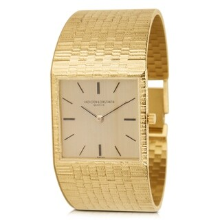 Vacheron Constantin Dress 6908 Unisex 18k Yellow Gold Watch