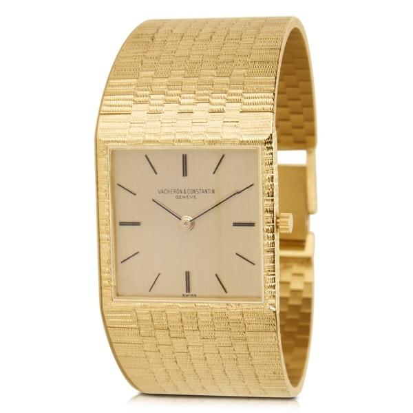 674280f4938 Shop Vacheron Constantin Dress Unisex Watch in 18K Yellow Gold ...