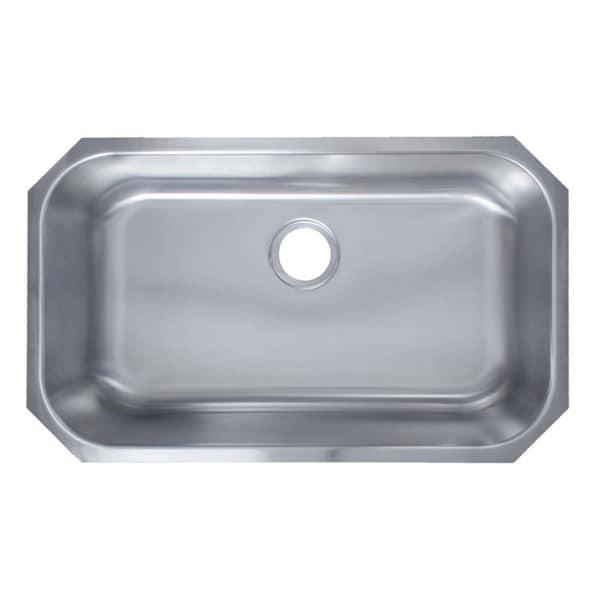 Soci Single Bowl ADA Stainless Steel Kitchen Sink