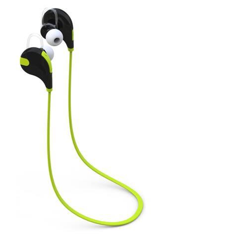 Laud Sports Sweat-proof In-Ear Bluetooth Earphones Secure Hooks and Mic