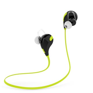 Laud Sports Sweat-proof In-Ear Bluetooth Earphones Secure Hooks and Mic