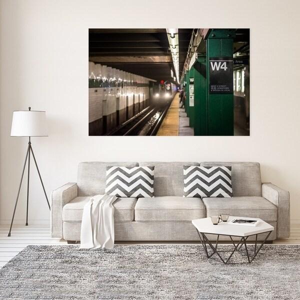 Noir Gallery Manhattan Subway Station Platform Fine Art Photo Print