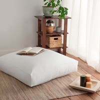 Giant 36-inch Dorm University Floor Cushion Down and Feather Pillow