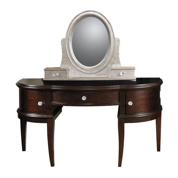 Glamour Desk Vanity with Stool