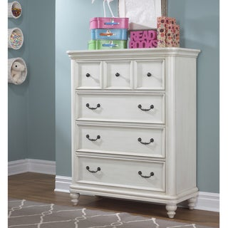 Madison Traditional White Wood 4-drawer Chest