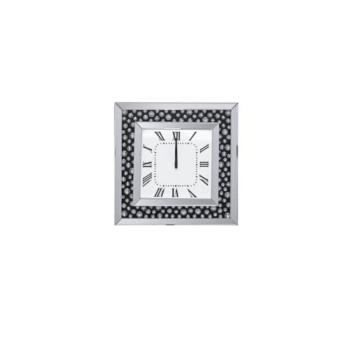 Acme Furniture Marku Mirrored Wall Clock