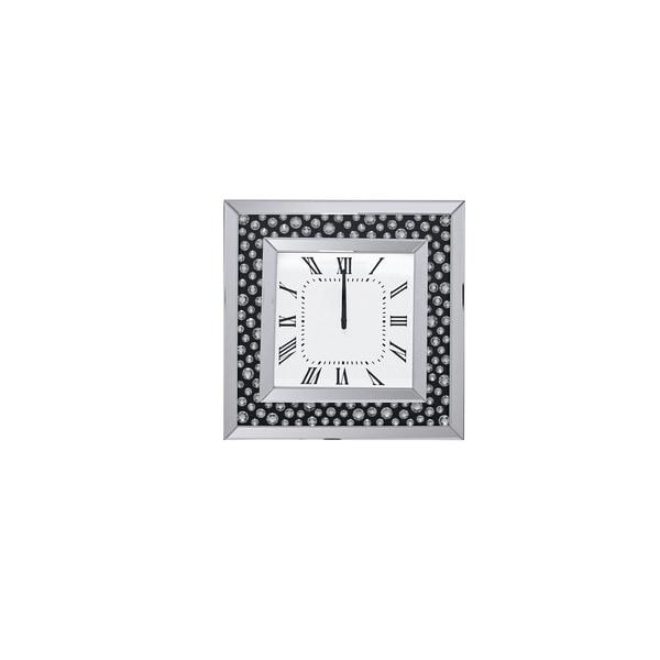 Acme Furniture Marku Mirrored Wall Clock