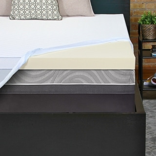 Sealy Perfect Chill 3-inch Memory Foam Mattress Topper