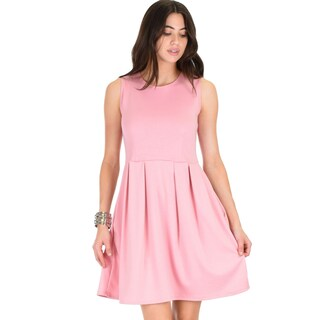 Lyss Loo I'm Smitten Royal Skater Dress With Pockets (More options available)