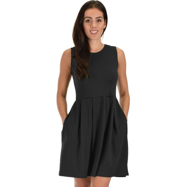 6dacfa1aa Shop Lyss Loo I'm Smitten Royal Skater Dress With Pockets - Free ...