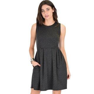 Lyss Loo I'm Smitten Royal Skater Dress With Pockets (4 options available)