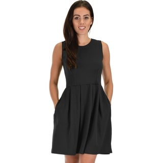 Lyss Loo I'm Smitten Royal Skater Dress With Pockets