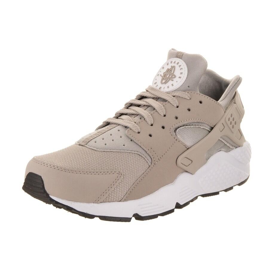 Nike Men's Air Huarache Running Shoe (10), Beige (Synthet...