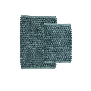 VCNY Home Reily Two Tone Bath Rug Set