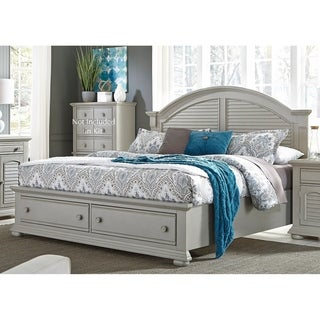 Summer House II Cottage Grey Storage Bed Set
