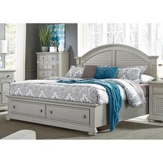 Summer House II Cottage Grey Storage Bed Set
