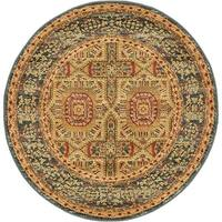 Unique Loom Lincoln Palace Round Rug - 3' 3 x 3' 3