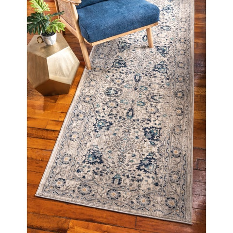 Unique Loom Osterbro Oslo Runner Rug - 3' x 13'
