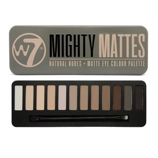 W7 Mighty Mattes Natural Nudes Matte Eye Colour Palette Tin