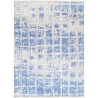 """Modern Collection Hand-Knotted Bamboo Silk Area Rug- 7'11"""" X 10' 6"""""""
